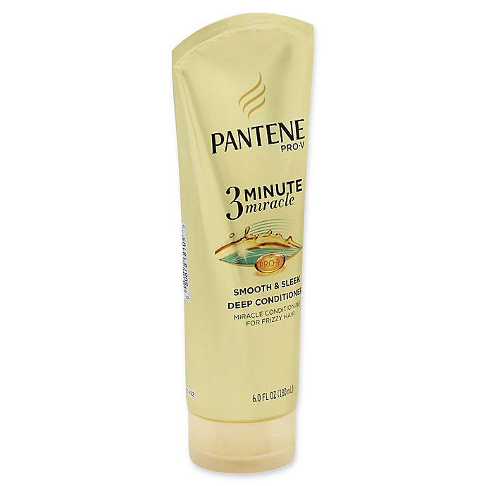 Alternate image 1 for Pantene Pro-V 3-Minute Miracle 6 fl. oz. Smooth & Sleek Deep Conditioner
