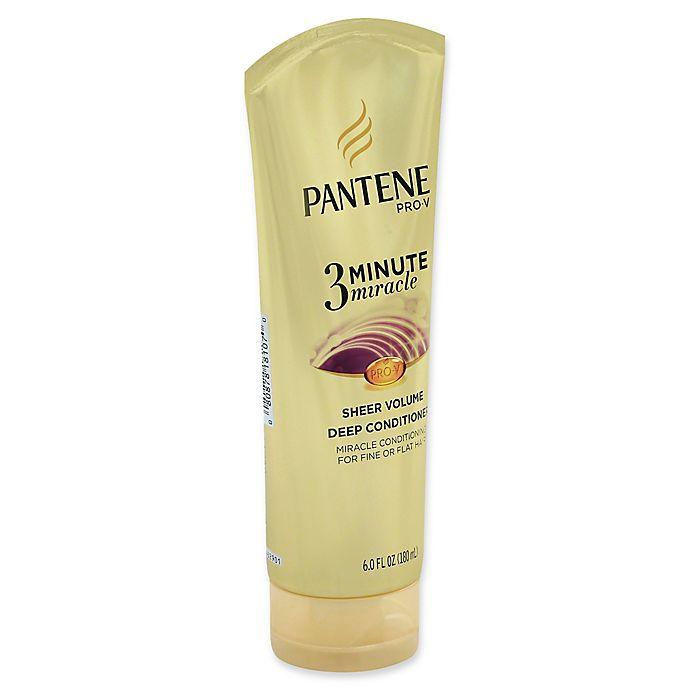 Alternate image 1 for Pantene Pro-V 3-Minute Miracle 6 fl. oz. Sheer Volume Deep Conditioner
