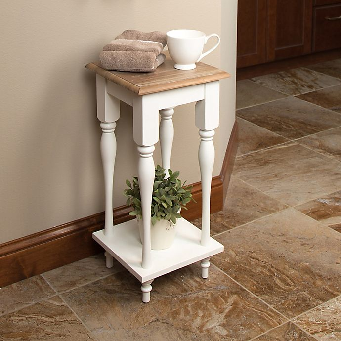 Alternate image 1 for Kate and Laurel Sophia End Table in White