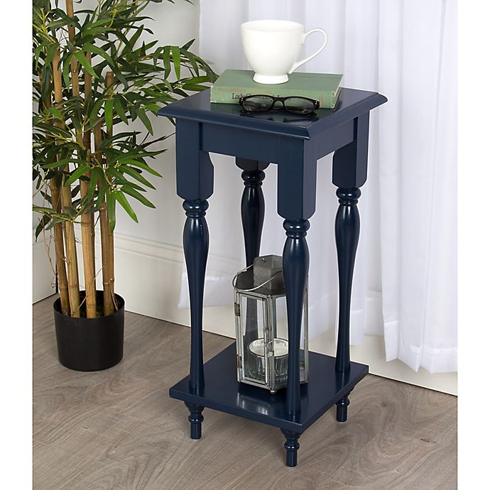 Alternate image 1 for Kate and Laurel Sophia End Table in Navy