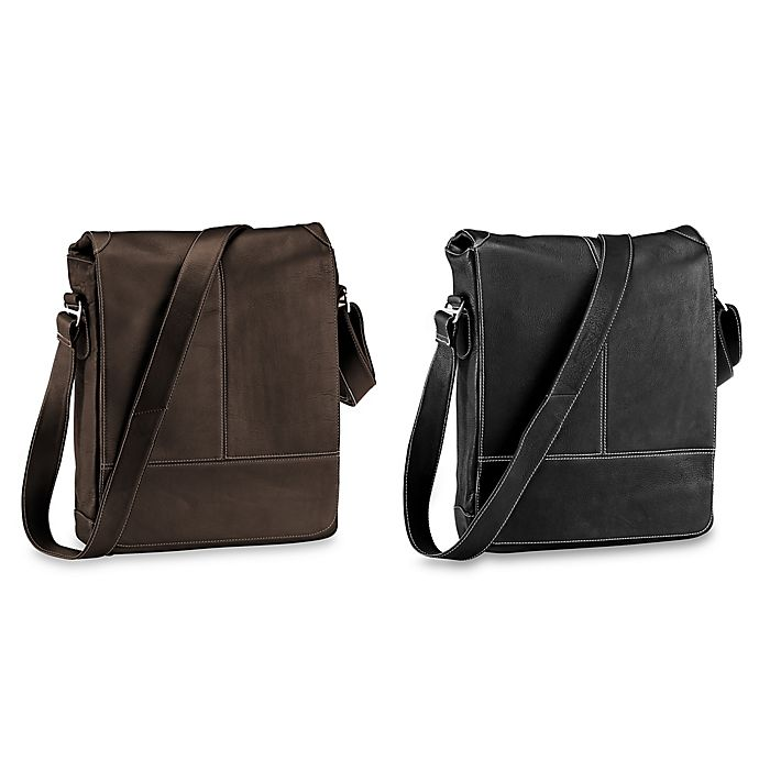 9933ec5d74cf Piel® Leather Urban Vertical 11.5-Inch Messenger Bag | Bed Bath & Beyond
