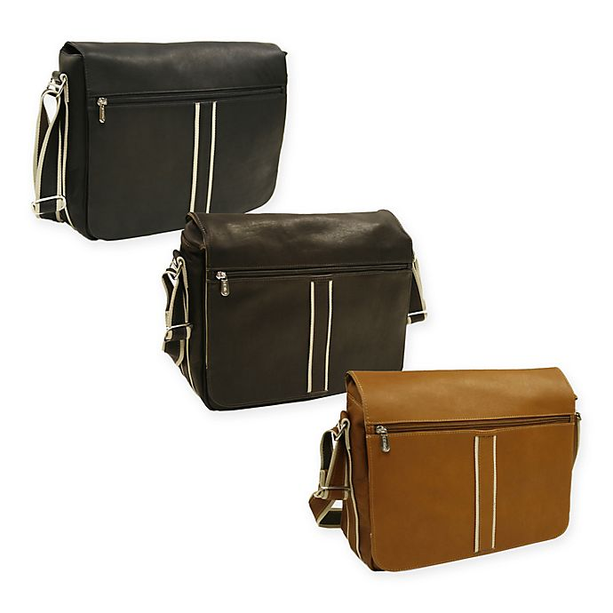 Piel® Leather 4-Section Urban Messenger Bag  30b3b7b19454a