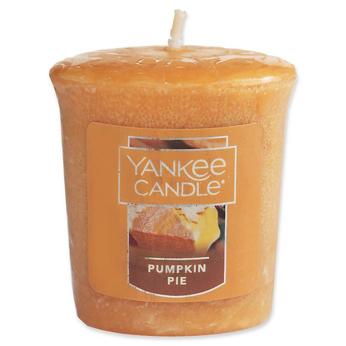 Alternate image 1 for Yankee Candle® Housewarmer® Pumpkin Pie Votive Candle