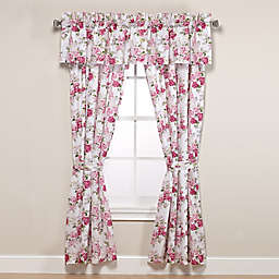 Laura Ashley® Lidia Window Valance in Pink