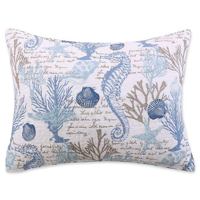 Sag Harbor Pillow Sham In Blue Bed Bath Beyond