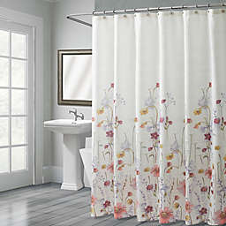 Croscill® Pressed Flowers Shower Curtain