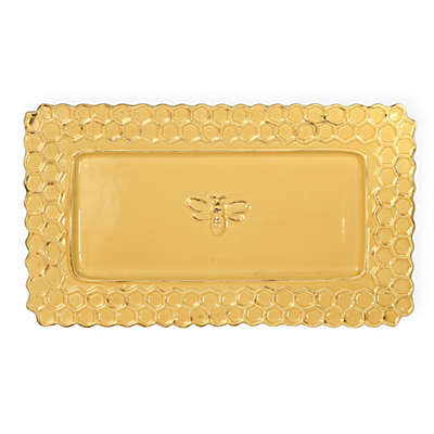 Boston International Honeycomb 13-Inch Rectangular Serving Platter