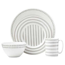 kate spade new york Charlotte Street™ North 4-Piece Place Setting in Grey