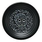 Fiesta® Skull and Vine Luncheon Plate in Black