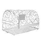 Cathy's Concepts Reception Gift Card Holder Mailbox in Silver
