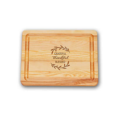 Carved Solutions Master Collection Thankful 10-Inch  x 7-1/2 Inch Cutting Board