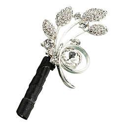 Lillian Rose™ Rhinestone Leaf Boutonniere