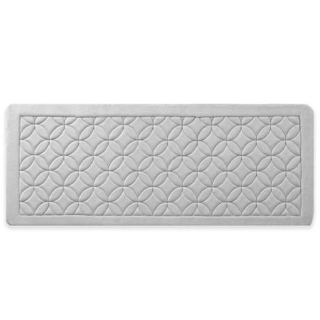 Vcny Chanel 24 Inch X 60 Memory Foam Bath Runner