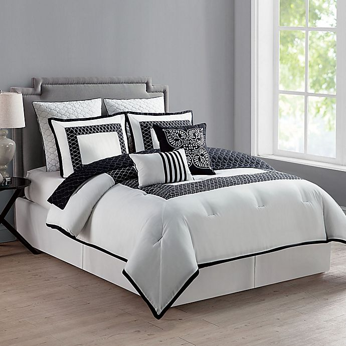 Alternate image 1 for VCNY Home Marion Reversible Comforter Set