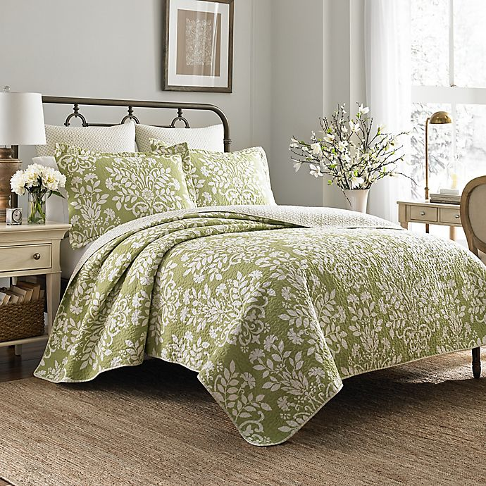 Laura Ashley 174 Rowland Quilt Set Bed Bath Amp Beyond