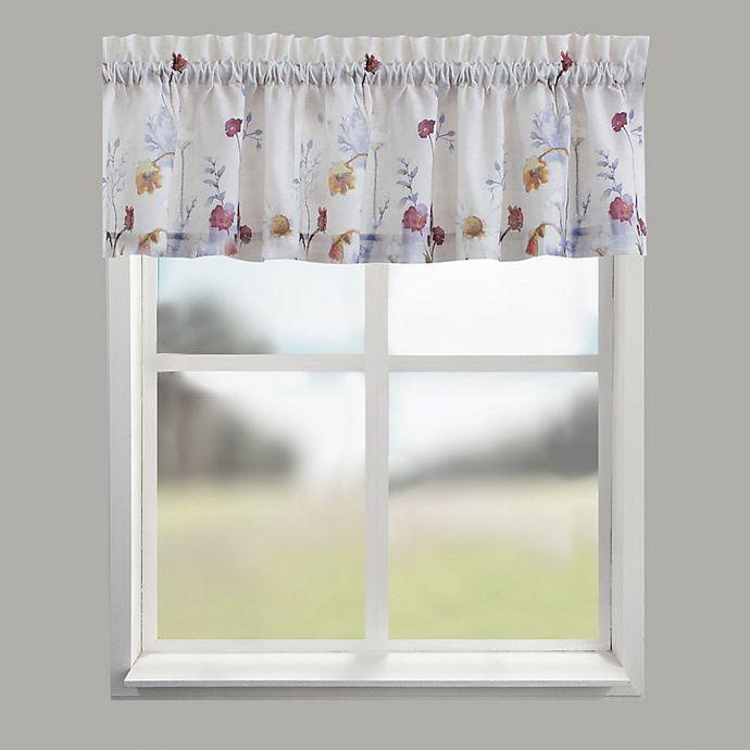 Alternate image 1 for Croscill® Pressed Flowers Window Valance