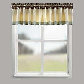 CroscillR Fairfax Bath Window Curtain Valance