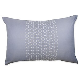 Canadian Living Tofino Oblong Throw Pillow in Blue/Grey