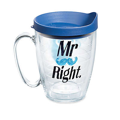 Tervis® Mr. Right Mustache 16 oz. Mug with Lid