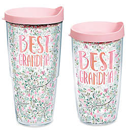 TervisR Dainty Floral Grandma Tumbler With Lid