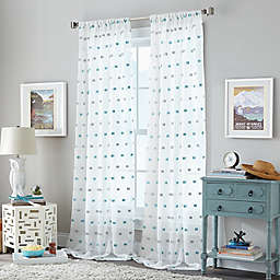 Zuma Rod Pocket Window Curtain Panel