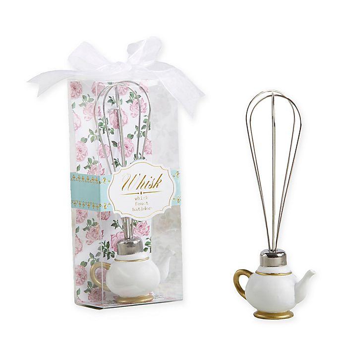 Alternate image 1 for Kate Aspen® 12-Pack Tea Time Whimsy Teapot Whisks
