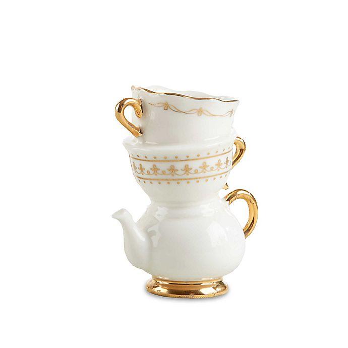 Alternate image 1 for Kate Aspen® 12-Pack Tea Time Whimsy Ceramic Bud Vases