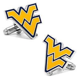 West Virginia University Silver-Plated and Enamel Cufflinks