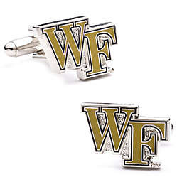 Wake Forest University Silver-Plated and Enamel Cufflinks