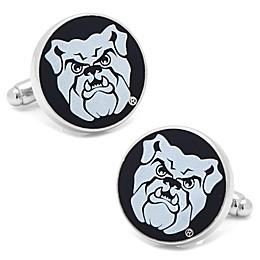 Butler University Silver-Plated and Enamel Mascot Logo Cufflinks