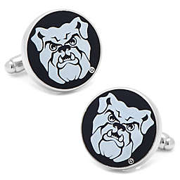 Butler University Mascot Silver-Plated and Enamel Cufflinks