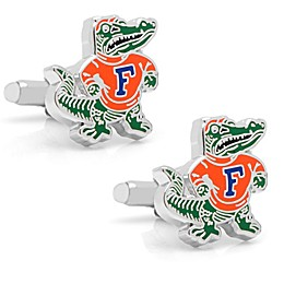 University of Florida Silver-Plated and Enamel Vintage Mascot Cufflinks