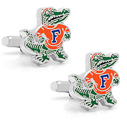 University of Florida Mascot Silver-Plated and Enamel Cufflinks