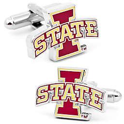 Iowa Sate University Silver-Plated and Enamel Cufflinks