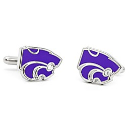 University of Colorado Silver-Plated and Enamel Mascot Cufflinks