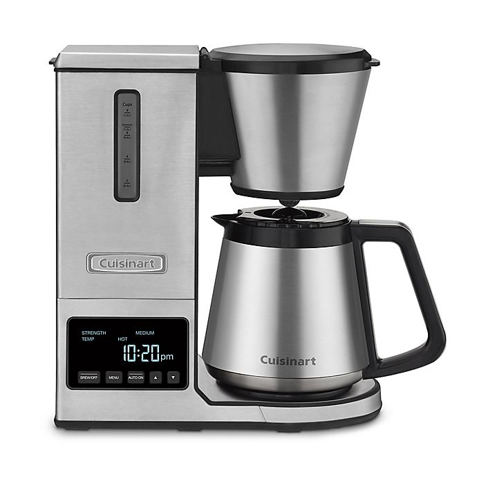 Alternate image 1 for Cuisinart® PurePrecision Pour-Over Coffee Brewer with Stainless Steel Carafe