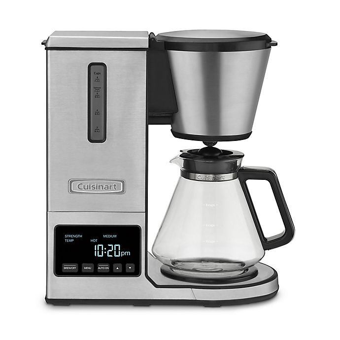 Alternate image 1 for Cuisinart® PurePrecision Pour-Over Coffee Brewer with Glass Carafe