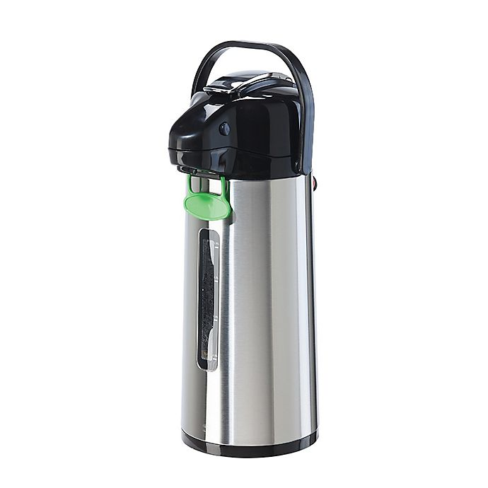 Alternate image 1 for OGGI™ 2.2 Liter Stainless Steel Pumpmaster with Viewing Window