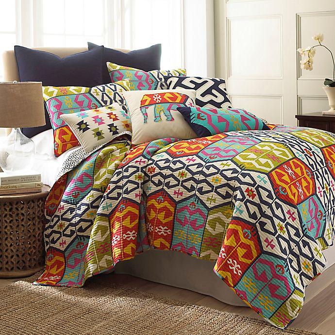 Alternate image 1 for Levtex Home Moesha Reversible Quilt Set