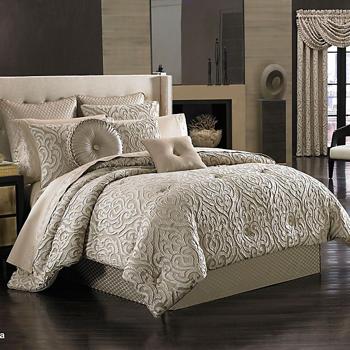 Alternate image 1 for J. Queen New York Astoria Comforter Set in Sand
