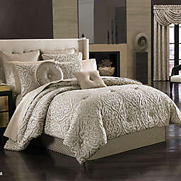 J. Queen New York Astoria Comforter Set in Sand