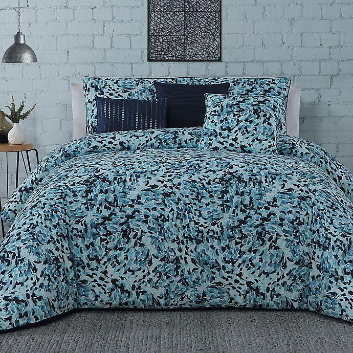 Alternate image 1 for Steve Madden® Nessa 6-Piece Comforter Set in Blue
