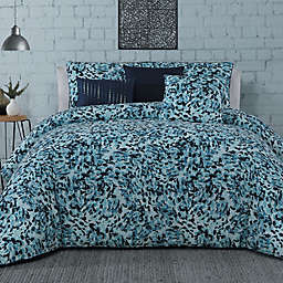 Steve Madden® Nessa 6-Piece Comforter Set in Blue