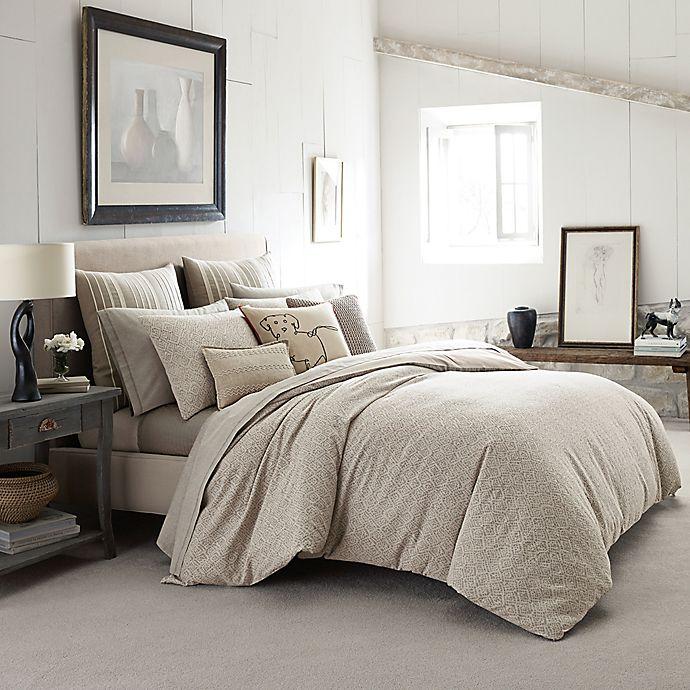 Alternate image 1 for Ed Ellen DeGeneres Mosaic Tile Comforter Set in Light Beige