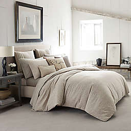 Ed Ellen DeGeneres Mosaic Tile Comforter Set in Light Beige