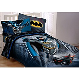 DC Comics™ Batman Guardian Speed Comforter Set in Black/Blue