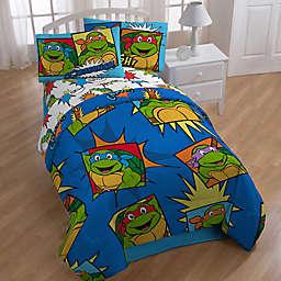 Nickelodeon™ Teenage Mutant Ninja Turtles Team Turtles 4-Piece Twin Comforter Set