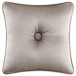 J. Queen New York Astoria 16-Inch Square Throw Pillow in Sand