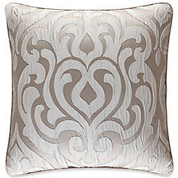 J. Queen New York Astoria 18-Inch Square Throw Pillow in Sand