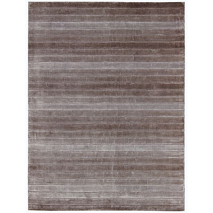 Alternate image 1 for Nourison Aura 4' x 6' Hand Loom Woven Area Rug in Amethyst